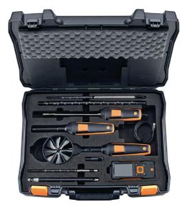 Multifunctional air velocity and indoor air quality (IAQ) instrument, testo 440 and testo440 differential pressure (dP)