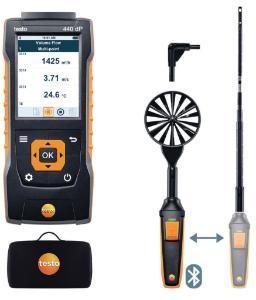 testo 440 delta P Air Flow Combo Bluetooth Kit 1