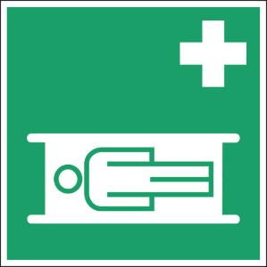 Emergency escape and fire equipment signs, fire blanket